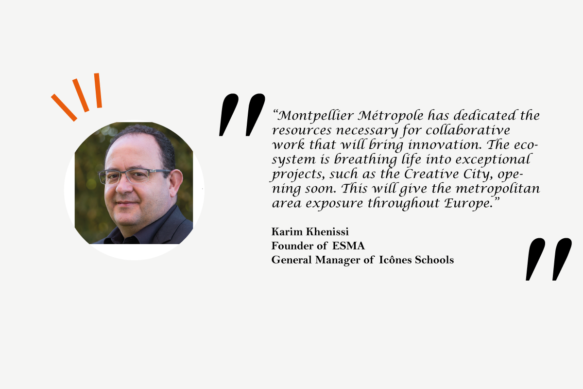 Karim Khenissi Founder of ESMA General Manager of Icônes Schools