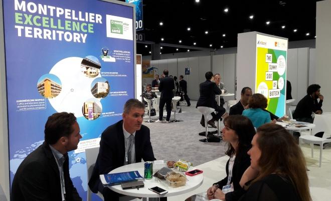 Neuf entreprises montpelliéraines se sont rendues au Salon international dédié aux biotechnologies : Bio International Convention.