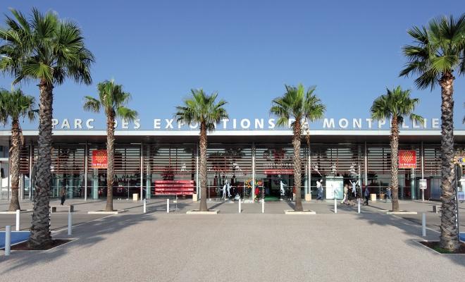 Le Parc des expositions de Montpellier est un des grands équipements du territoire.