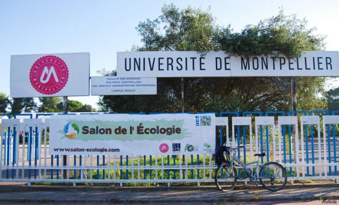 Le Salon de l'Ecologie est le rendez-vous national de la filière professionnelle de l'écologie (photo Université de Montpellier)