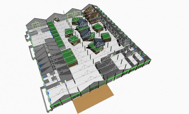 La Cité Créative, ce sera : 40 hectares d'aménagements dont 35 000 m² d'activités tertiaires.