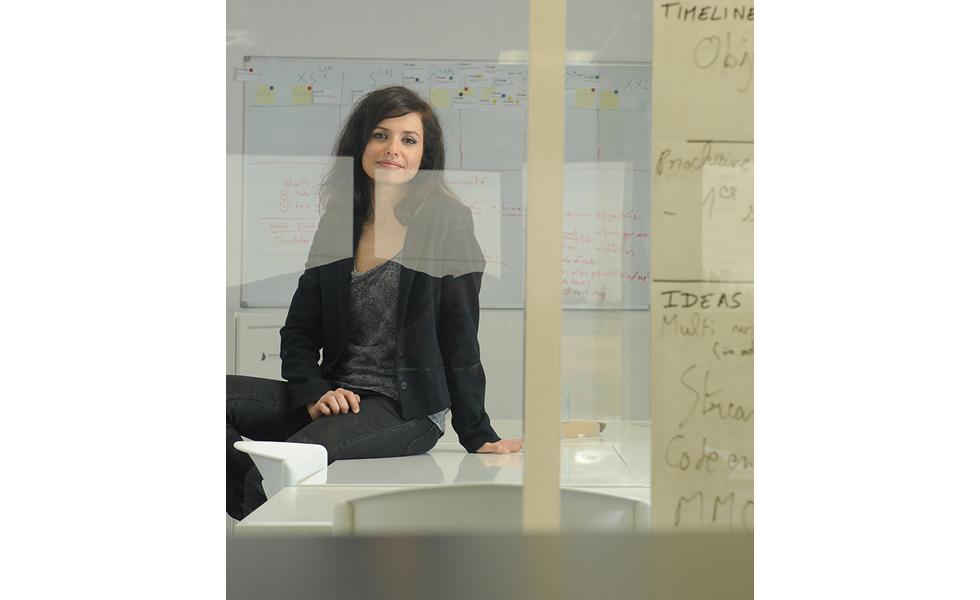 Aude BARRAL, cofondatrice et Chef Marketing Officer de CodinGame