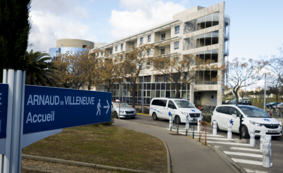 CHU de Montpellier Arnaud de Villeneuve@David Crespin