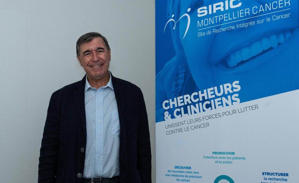 Marc Ychou, directeur général de l'Institut du Cancer de Montpellier et directeur du SIRIC Montpellier Cancer©@lemasmedia