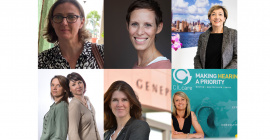 Les dirigeantes de Cilcare, My Charlotte, Alcediag, Genepep, Mode in Med et Surgimab. @david-crespin @DR @nina-mahr @Edouard Hannoteaux