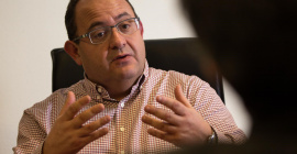 Karim Khenissi, le créateur du réseau Icônes.  © PHOTOBIM – Dominique Quet