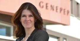 Karine Puget, présidente de GENEPEP©DR