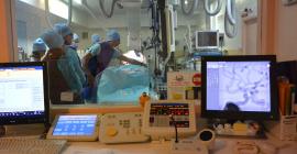 La salle de neuroradiologie interventionnelle au CHU de Montpellier©DR